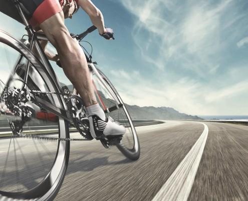 Sportmedizin - Rennradfahrer